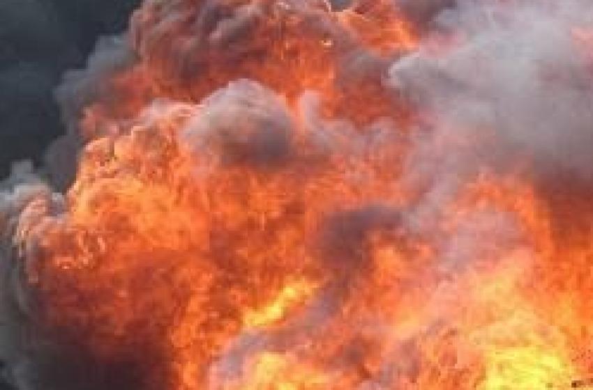 Collebrincioni. Fine incendio