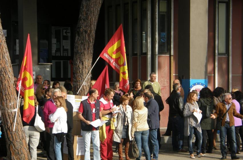 Protesta il pubblico impiego