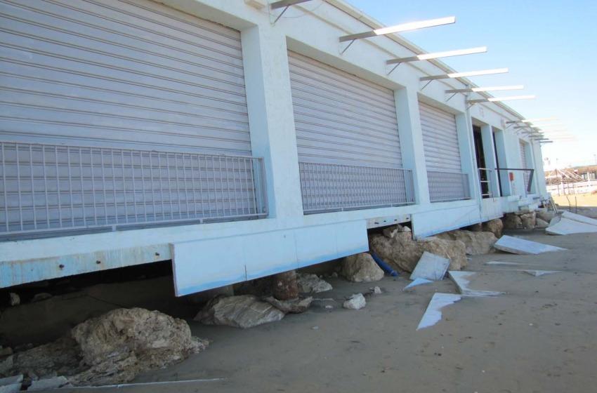 I danni della mareggiata