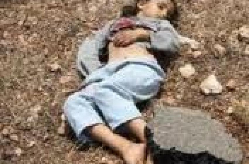 Orrore in Siria. Stage di bimbi