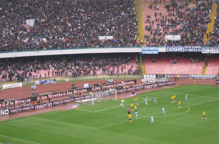 Colpa del Napoli (e l'arbitro?)