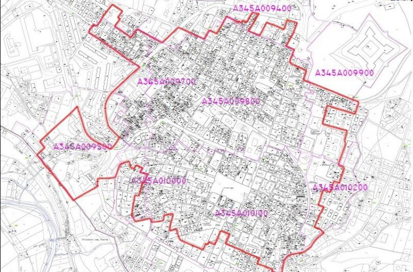 Mappa della Zona Franca