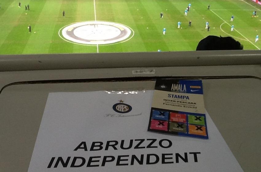 Inter-Pescara così in campo