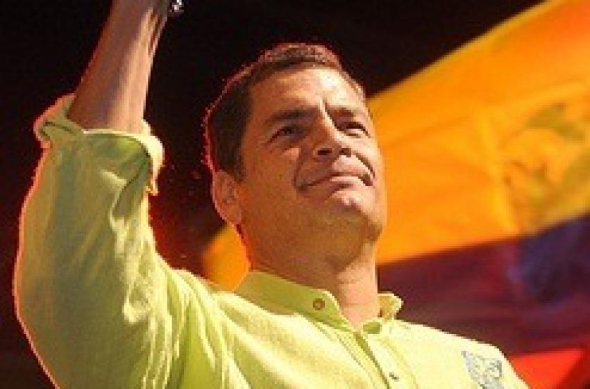 Ecuador. Correa al 75%