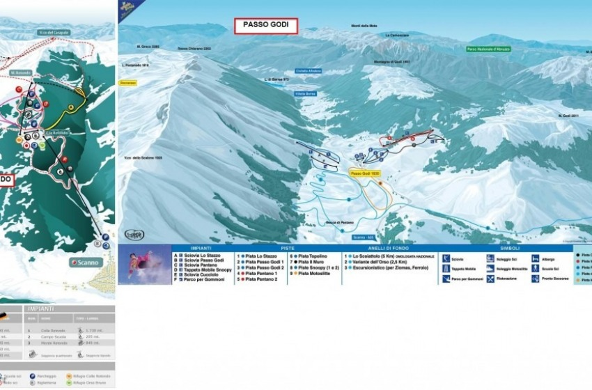 Muore sciatrice a Scanno