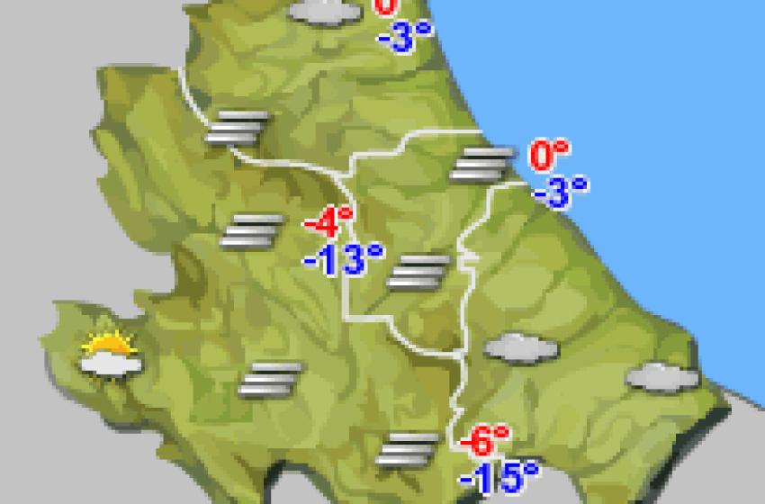 Abruzzo, che tempo farà?