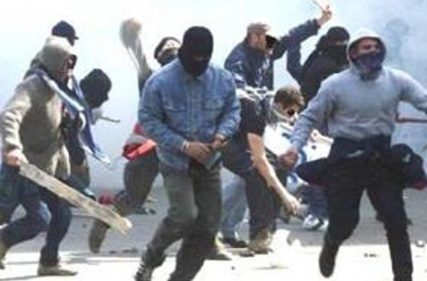 Tifo violento. Stop a Spoltore