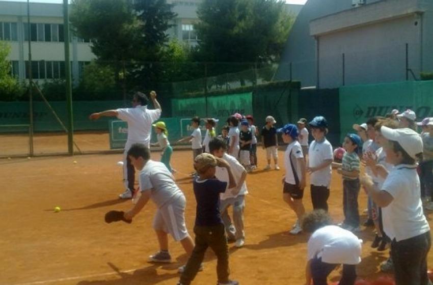 Educazione motoria col tennis