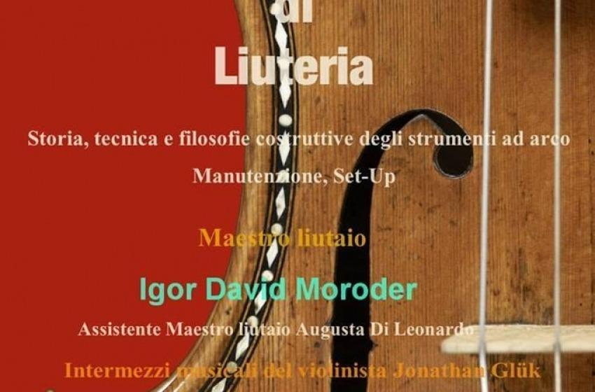 """Al Conservatorio """"Luisa D'Annunzio"""" il maestro Moroder"""