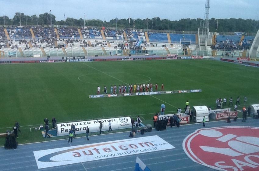 Pescara 3 Brescia 3. Incredibile autogol di Zauri