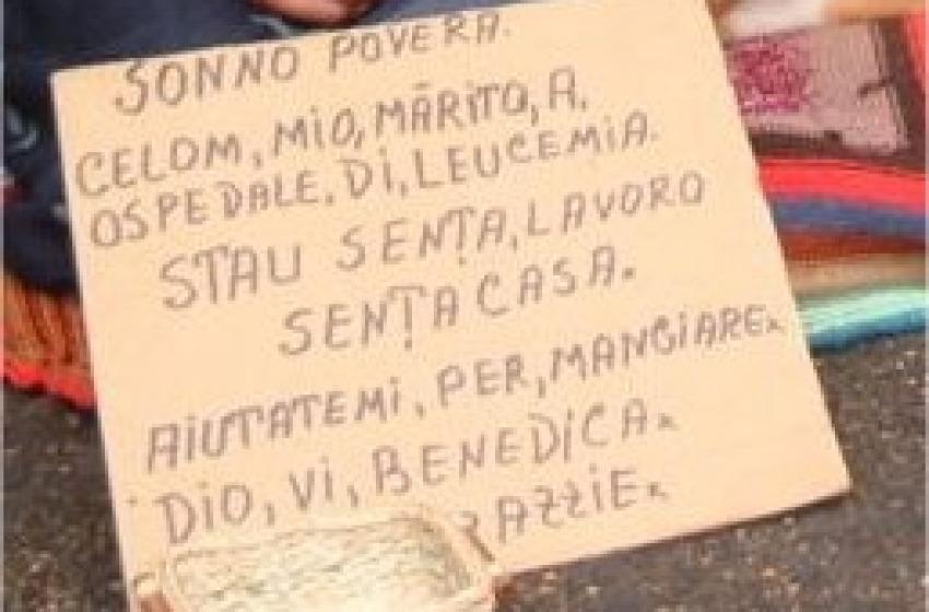 Allarme sociale. Aumentano italiani senza casa e lavoro