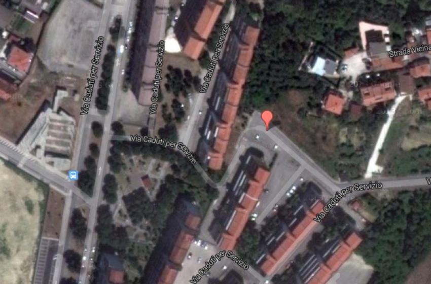 Evacuato edificio popolare in via Caduti per Servizio