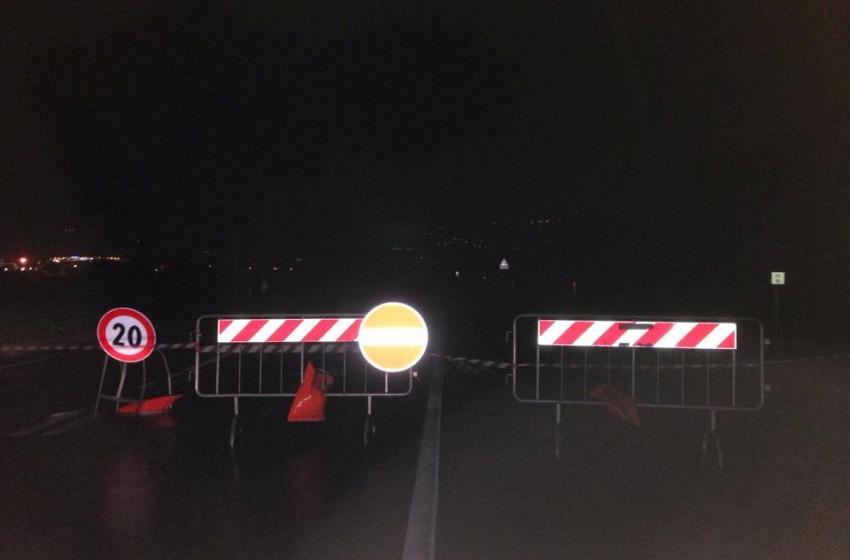 Chiuso Ponte Fascine tra San Giovanni e Spoltore