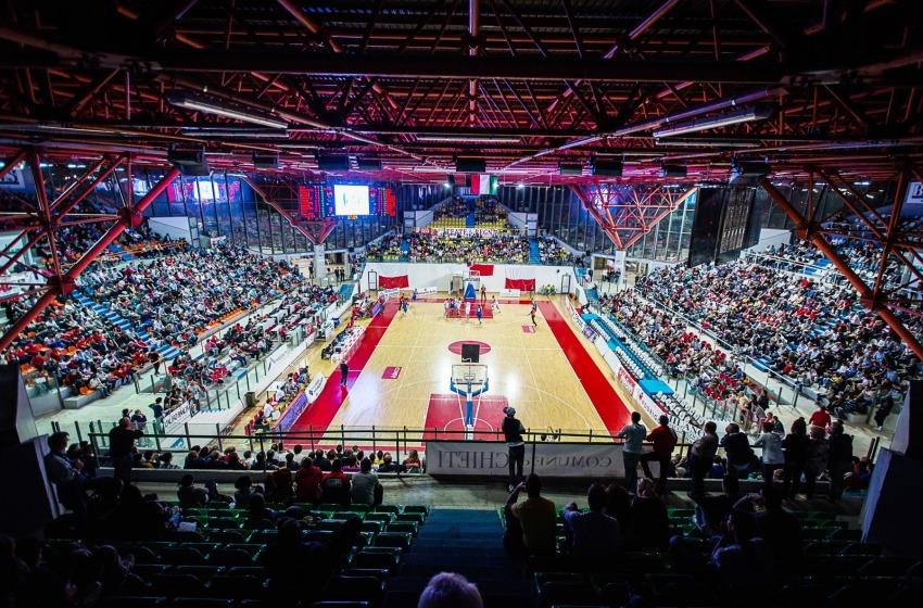 Basketmania a Chieti. Record di pubblico del Pala Tricalle