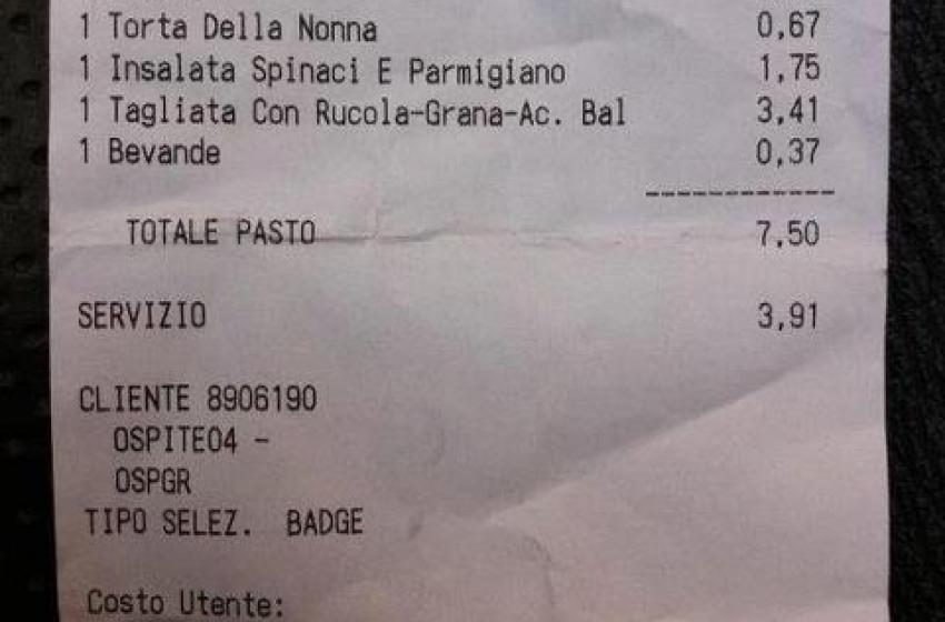 Il pasto completo della Casta? Costa solo 11,41 euri