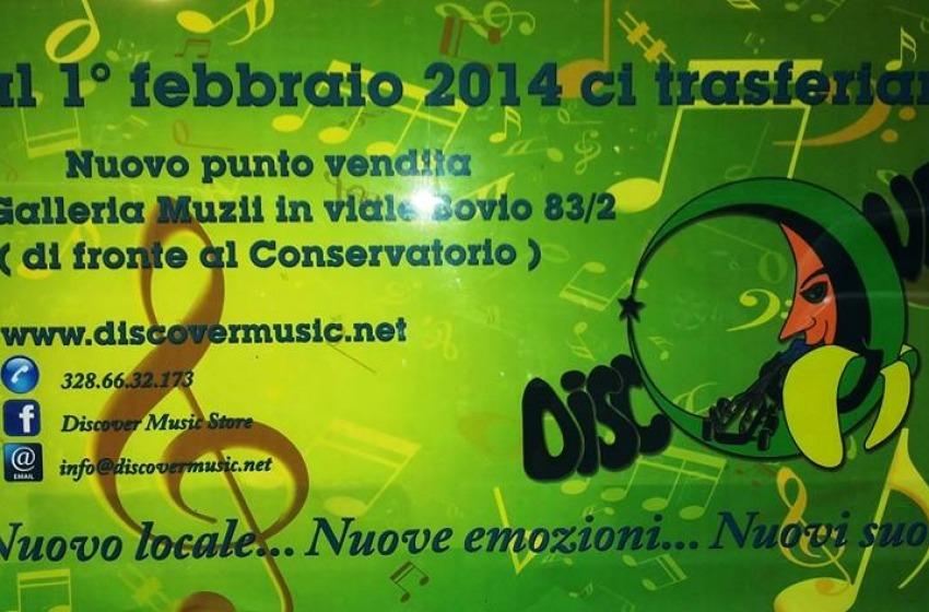 Musica. Riapre a Pescara lo storico negozio Discover