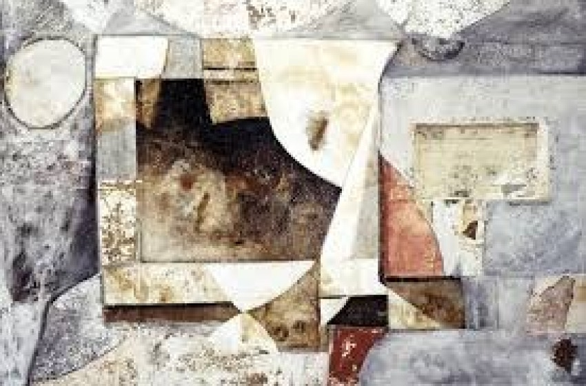 Le opere dell'artista informale Marcello Mariani in esposizione al SET