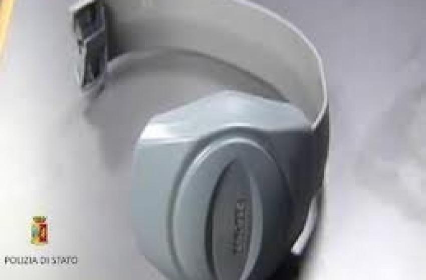 Applicato il braccialetto elettronico per gli arresti domiciliari