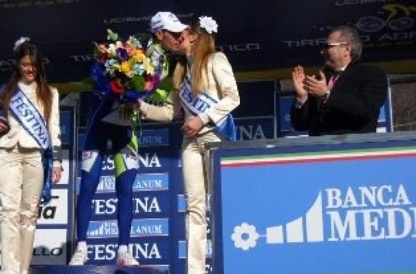Nibali vince la tappa