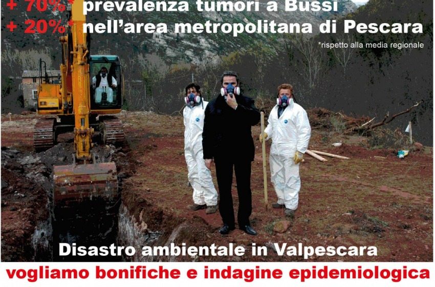 Disastro ambientale Valpescara: lanciata petizione su Avaaz.org