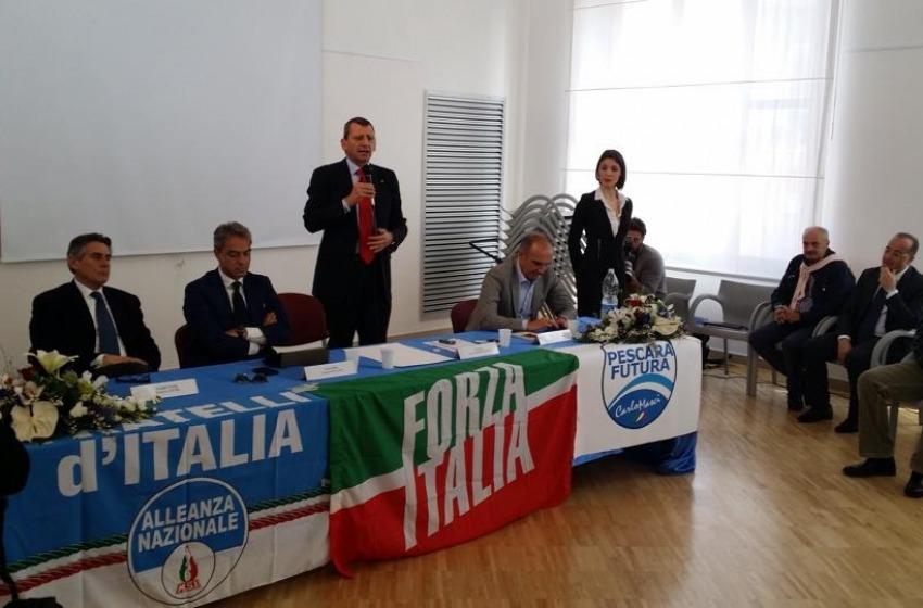 Forza Italia tenta il bis con Mascia. Testa è sempre più solo