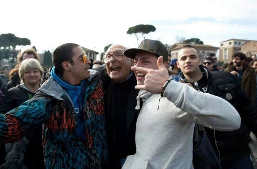 Marco Pannella festeggia il suo 84esimo compleanno a Teramo