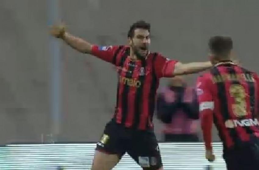 La Virtus in 10 uomini rimonta 2 goal al Trapani e pareggia