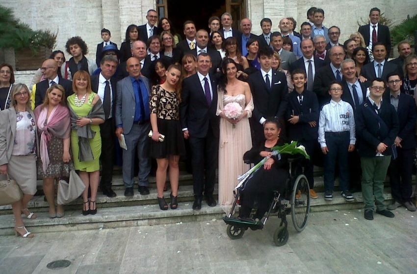 """Mascia convola a nozze in Comune. La """"first"""" si chiama Letizia Lizza"""