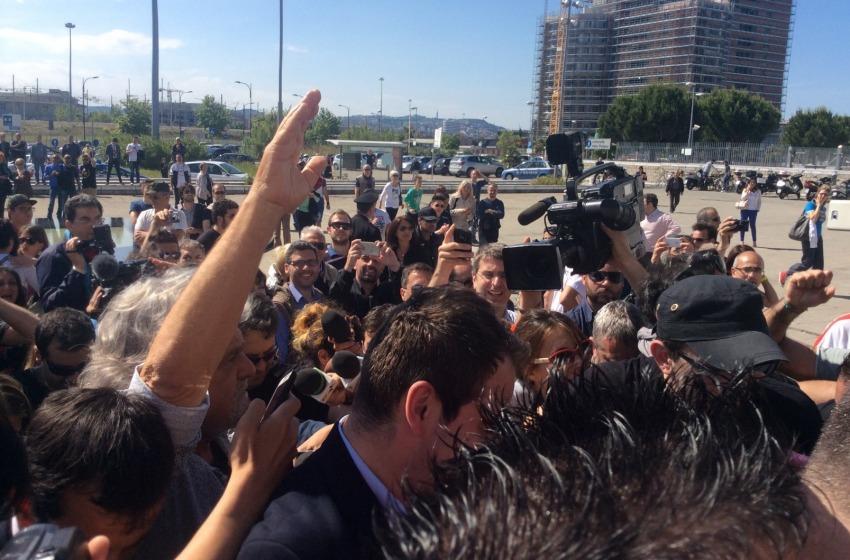 L'uragano arriva in Tribunale. Tripudio per Beppe Grillo