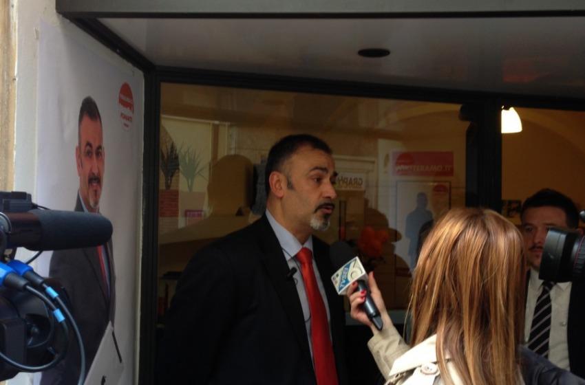 "Gianluca Pomante presenta il programma ""Rinascimento teramano"""