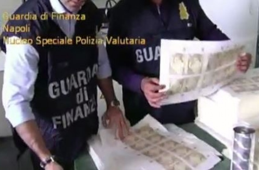 Sequestrati 8 milioni di euro in banconote false
