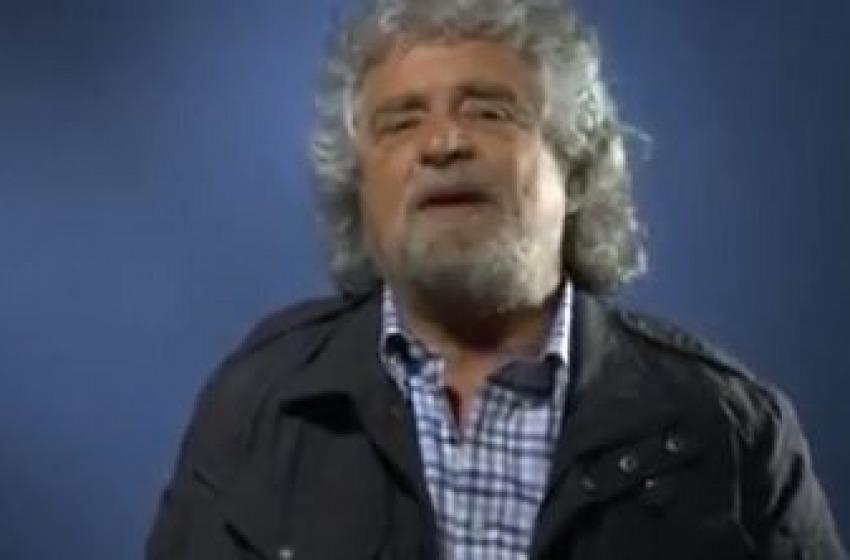Videomessaggio col malox di Grillo. «Siamo il primo movimento»
