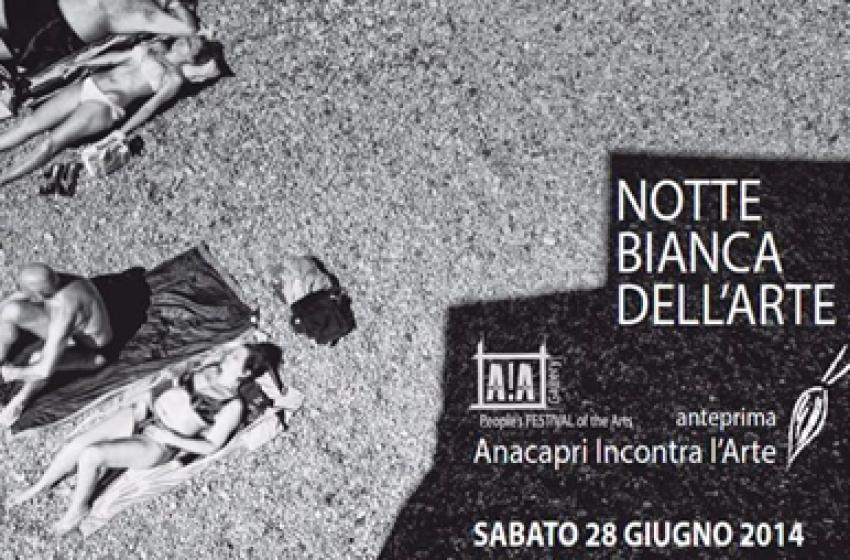 Arte, c'è anche l'Abruzzo alla notte bianca di Anacapri