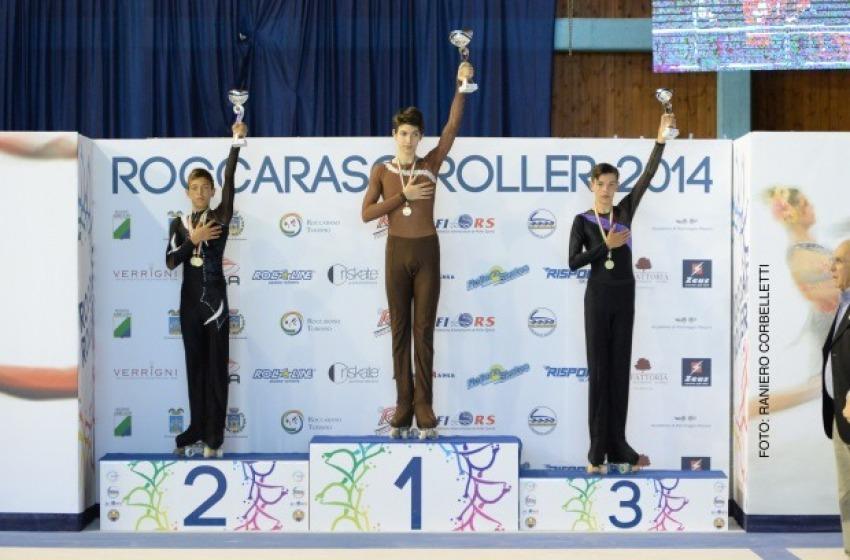 Tris di ori ai Campionati Italiani di Pattinaggio Artistico a Rotelle