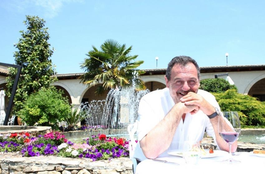 Vissani, l'ambasciatore dell'alta italiana a Les Paillottes