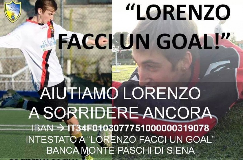 Lanciano, il Comune in prima linea per Lorenzo Costantini