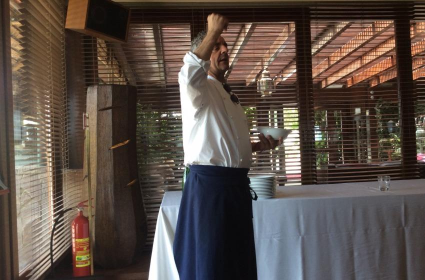 A lezione di cucina con Mauro Uliassi