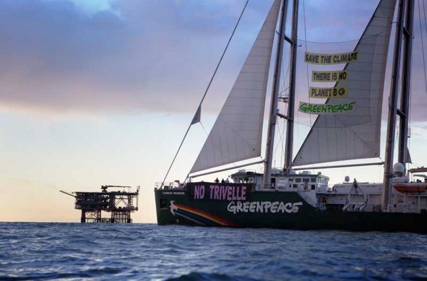 """Greenpeace contro il """"Rospo di Mare"""""""