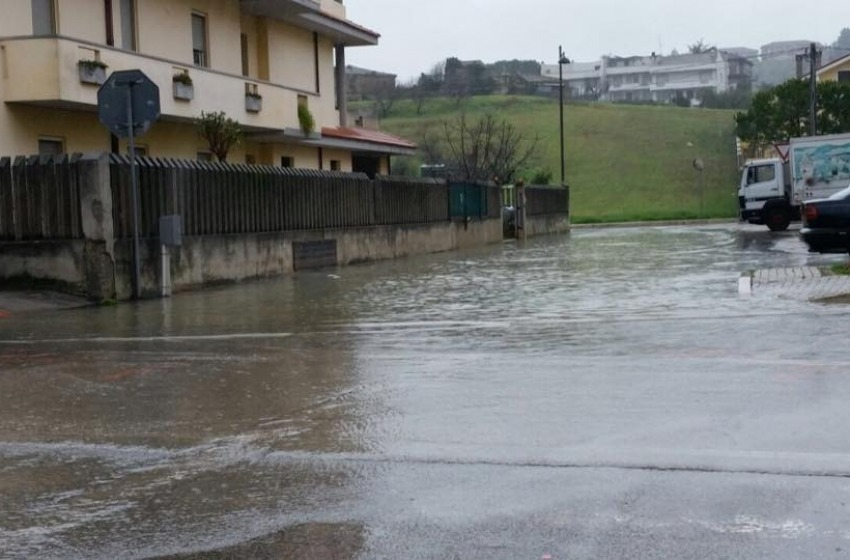 Maltempo su Pescara (foto)